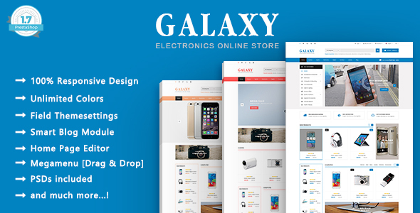 Galaxy - Electronics & Technology PrestaShop 1.7 Theme