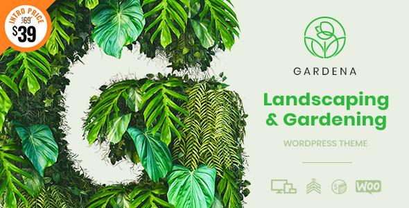 Gardena - WordPress Theme for Landscaping & Gardening
