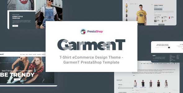 Garment - T-Shirt Store PrestaShop Theme