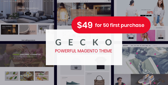 Gecko - Responsive Magento 2 Theme | RTL supported