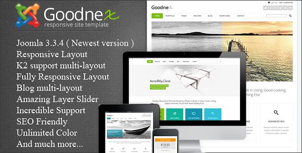 Goodnex - Responsive Joomla  Template
