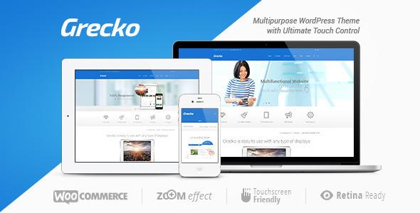 Grecko   A Clean Multipurpose WordPress Theme