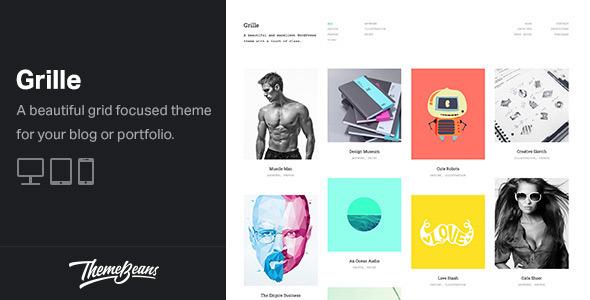 Grille - Responsive WordPress Portfolio & Blog Theme