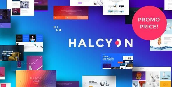 Halcyon - Multipurpose Modern Joomla Template