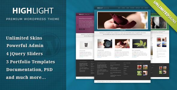 Highlight - Powerful Premium WordPress Theme