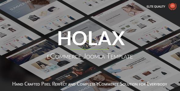 Holax - Multipurpose Hikashop eCommerce Template