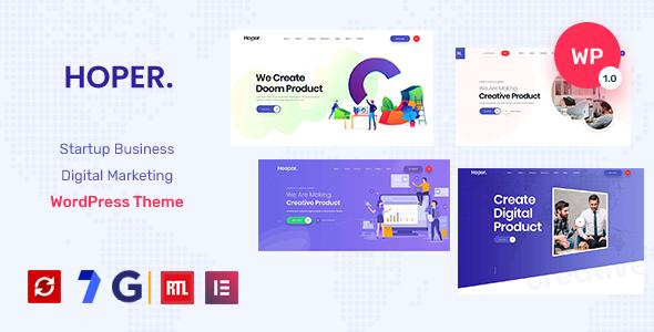 Hoper - Startup Digital Marketing Theme