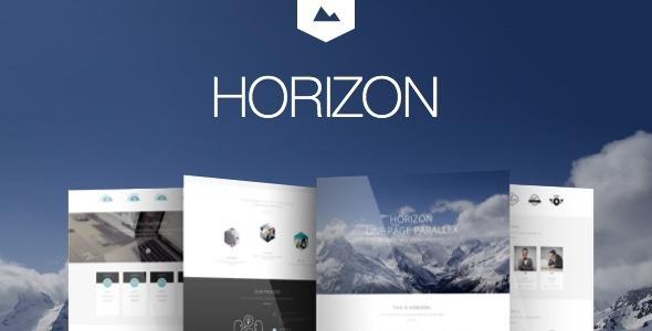Horizon - Creative One Page Multi-Purpose Retina Theme