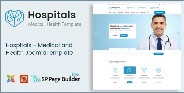 Hospitals - Responsive Joomla Medical Template