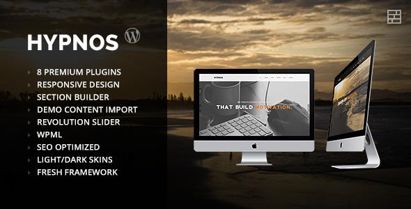 Hypnos - OnePage Parallax WordPress Theme
