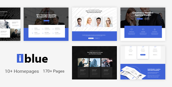 iblue - Responsive Multipurpose Joomla Template with Page Builder