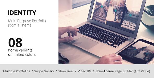 IDENTITY - MultiPurpose Portfolio Joomla Template