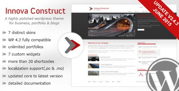 Innova Construct WordPress Theme