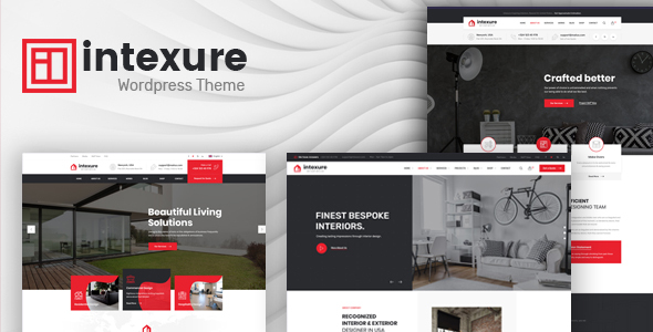 Intexure - Architecture and Interior Design WordPress Theme