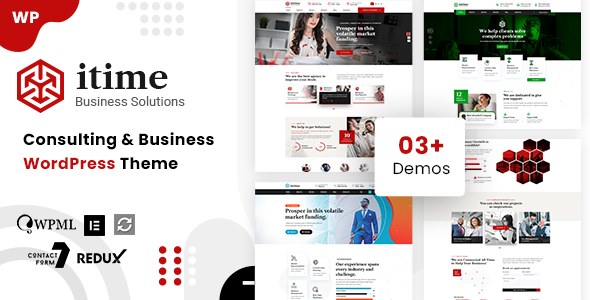 Intime - Business Consulting WordPress
