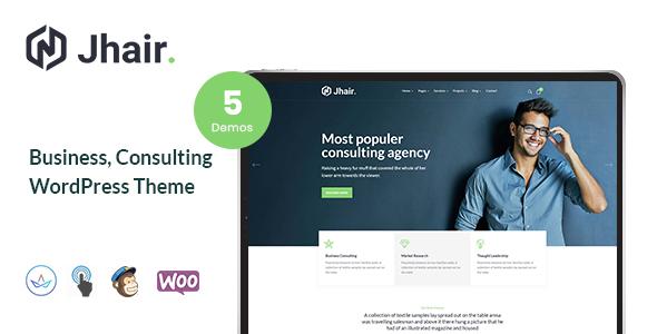 Jhair - Business, Consulting WordPress Theme