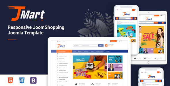 JMart - Multipurpose JoomShopping eCommerce Joomla Template