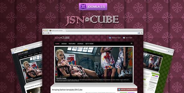 JSN Cube - Clean and Responsive Joomla Restaurant Template