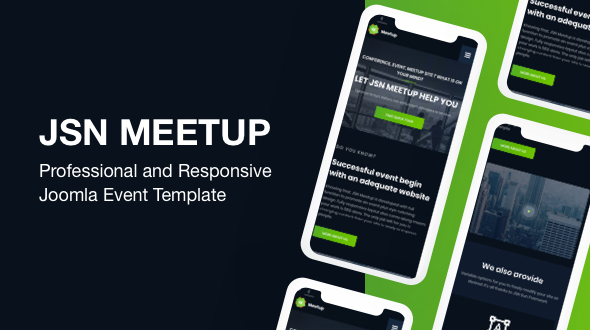 JSN MeetUp - Professional and Responsive Event Joomla Template