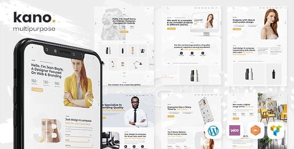 Kano - Creative MultiPurpose WordPress Theme