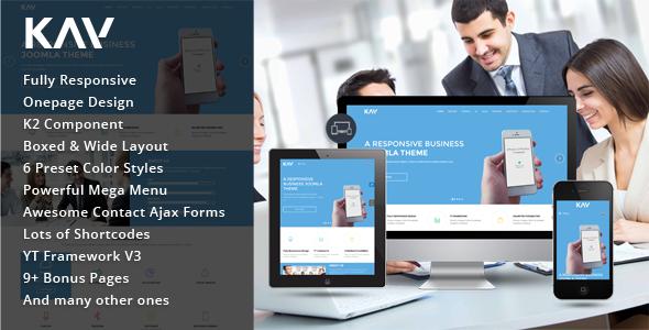 Kay - Responsive Business Joomla Template