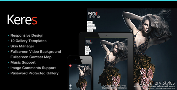 Photography WordPress | Keres for Photography