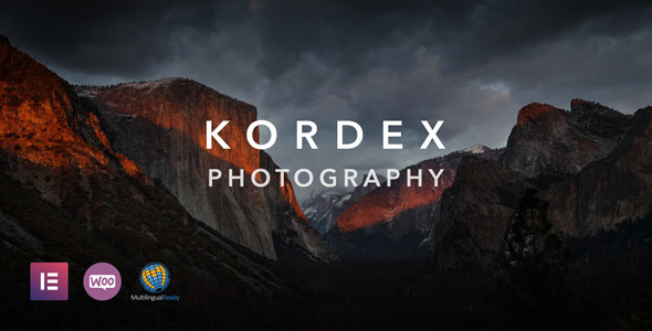 Kordex | Photography Theme for WordPress