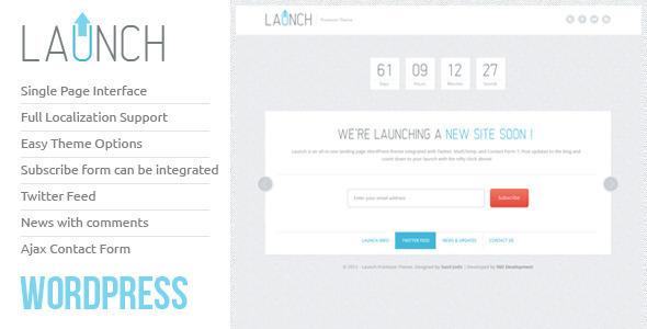Launch Wordpress Theme