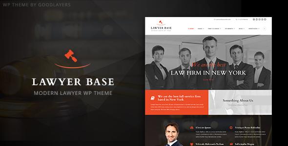 Lawyer Base - Attorney WordPress