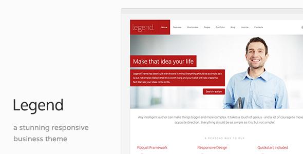 Legend - Responsive Multi-Purpose Joomla Template
