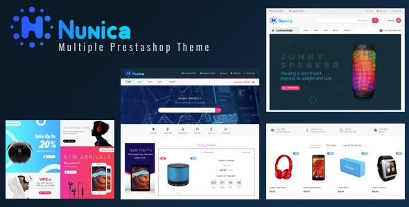 Leo Nunica - Digital and Electronics Prestashop 1.7 theme