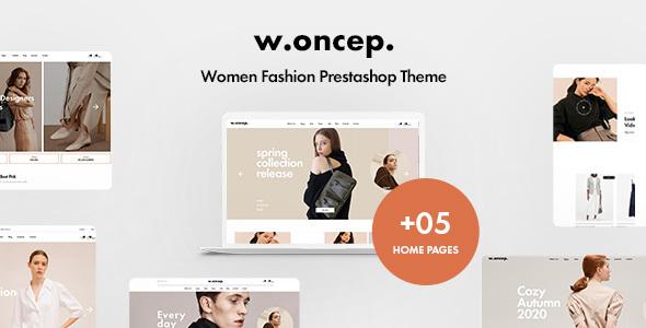 Leo Woncep High-End Women Fashion Prestashop Theme