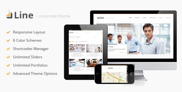 Line - Responsive Corporate WordPress Theme