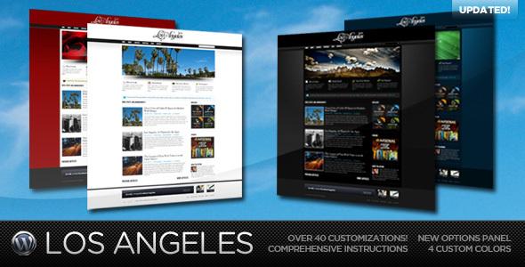 Los Angeles - A Premium Wordpress Theme