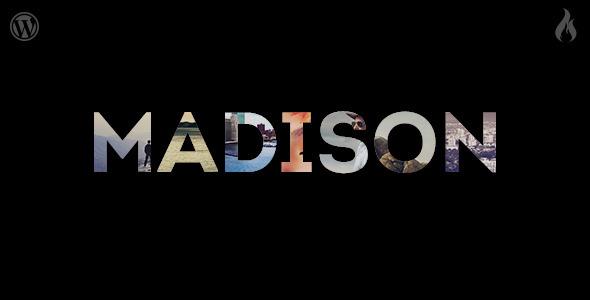 Madison - Responsive Portfolio WordPress Theme