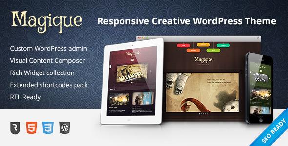 Magique - Ultimate Creative WordPress Theme