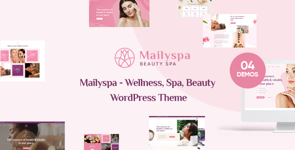 Mailyspa - Beauty & Wellness WordPress Theme