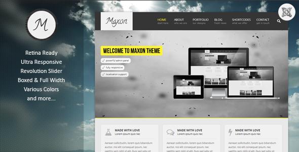 Maxon Multipurpose Joomla Template