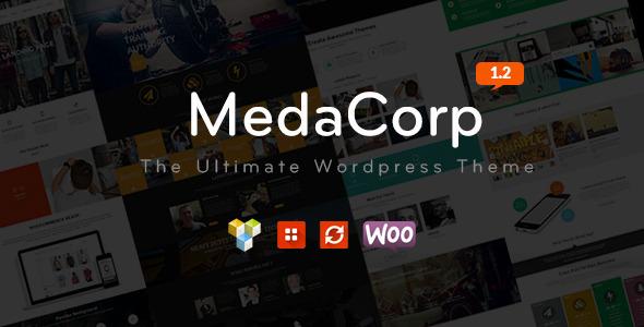 MedaCorp – A WordPress Theme