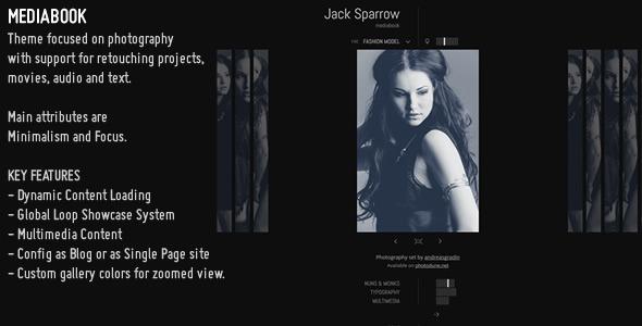 MediaBook - Multimedia Wordpress Theme