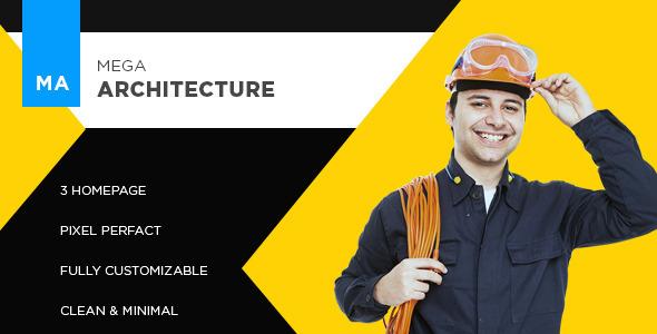 Mega Architecture :: Construction, Building Template