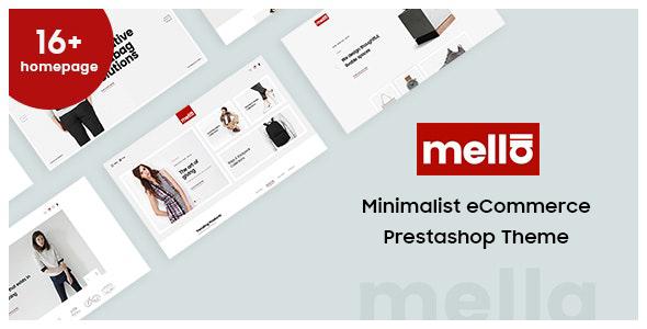 Mella - Minimalist Prestashop Theme