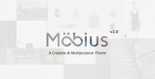 Mobius - Responsive Multi-Purpose WordPress Theme