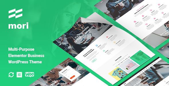 Mori - Business Corporate WordPress Theme