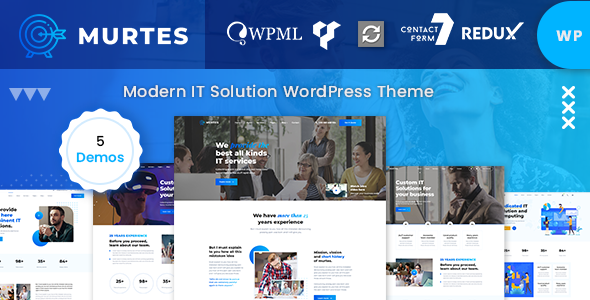 Murtes - IT Solutions and Services Company WordPress