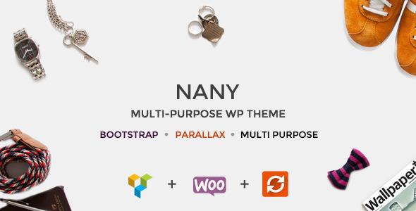 Nany - Creative Multipurpose WordPress Theme