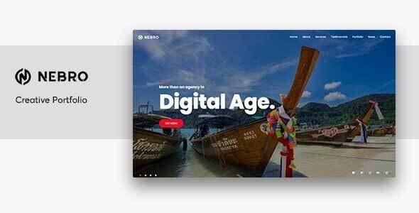 Nebro - Digital & Marketing OnePage Joomla Template