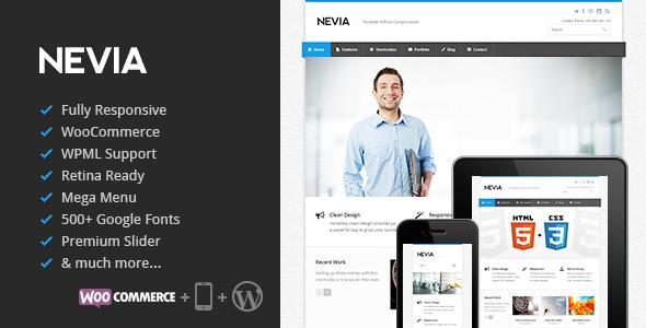Nevia - Responsive Multi-Purpose WordPress Theme