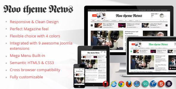 News - News Magazine Newspaper Template