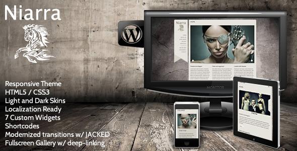 Niarra - Creative Responsive WordPress Theme